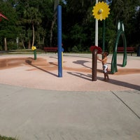 Photo taken at Oldsmar Spray Park by Gina S. on 4/12/2014