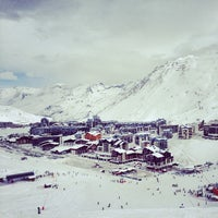 Photo taken at Tignes by Andrey G. on 1/23/2013