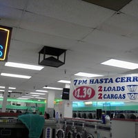 Photo taken at Coin-Less Laundry by Grace G. on 11/9/2012