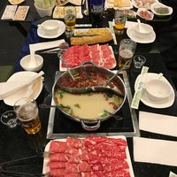 Photo taken at Little Sheep Mongolian Hot Pot by Chris on 2/1/2017