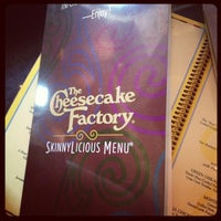 Photo taken at The Cheesecake Factory by nico on 10/14/2012