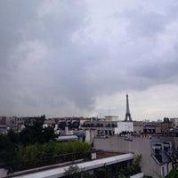 Photo taken at Siège de la Banque Postale by Bertrand D. on 7/8/2014