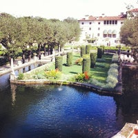 Photo taken at Vizcaya Museum and Gardens by Rafael D. on 1/10/2013