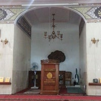 Photo taken at Masjid Shalahuddin Dirjen Pajak by AriA on 11/7/2014