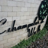 Photo taken at Cihampelas Walk (CiWalk) by Iwan S. on 12/24/2012