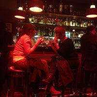 Photo taken at Slow Barcelona Cocktails & Boîte by Santi O. on 3/16/2013