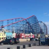 Photo taken at Blackpool Pleasure Beach by Noel T. on 6/15/2013