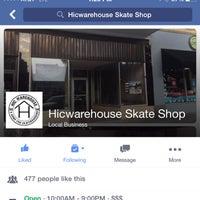 Photo taken at HIC Skateboard Shop & Indoor skateboard park by Robin Smooth M. on 8/24/2015