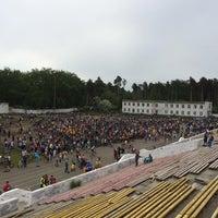"Photo taken at Стадион ""Локомотив"" by Даниил К. on 5/22/2016"