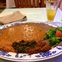 Photo taken at Assab Eritrean Restaurant by Diane O. on 4/21/2016