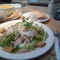 Photo taken at Le Pain Quotidien by Cherry B. on 1/2/2013