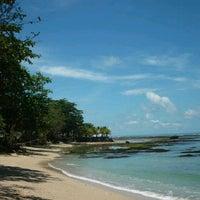 Photo taken at Pantai Sambolo by Dian P. on 12/31/2012