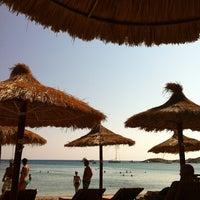 Photo taken at Porto Koundouros Beach by Stelios K. on 8/12/2013