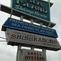 Photo taken at Sea Island Shrimp House by Debra H. on 4/17/2013