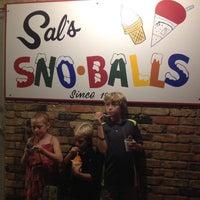 Photo taken at Sal's Sno-Ball Stand by Dawn B. on 8/13/2013