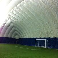 Photo taken at Soccerworld Polson Pier by Brian L. on 11/2/2013