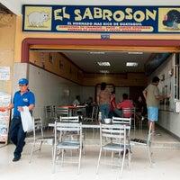 Photo taken at El Sabrosón by El Universo C. on 5/9/2014