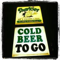 Photo taken at Sharkies Bar & Thrifty Bottle Shop by Dan K. on 10/6/2012