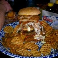 Photo taken at Jethros BBQ and Jambalaya by Krystal H. on 6/16/2012