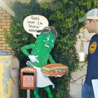 Photo taken at Mr. Pickle's Sandwich Shop by Derek D. on 10/10/2016