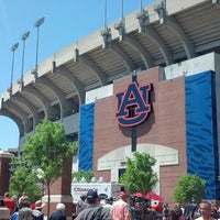 Photo taken at Pat Dye Field at Jordan-Hare Stadium by Gerrit B. on 4/20/2013