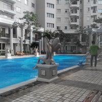 Photo taken at Waterplace Swimming Pool by Jefta H. on 2/9/2014