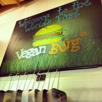 Photo taken at VeganBurg by Ling Ling T. on 10/11/2013