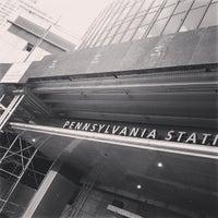 Photo taken at New York Penn Station (NYP) by Ogun H. on 6/17/2013