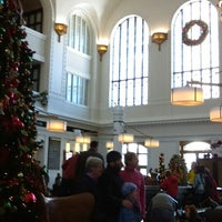 Photo taken at Denver Union Station by Chris M. on 12/27/2014