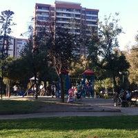 Photo taken at Plaza Eusebio Lillo by Sergio V. on 3/17/2013