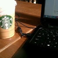 Photo taken at Starbucks by Ashley H. on 3/4/2013