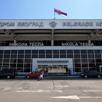 Photo taken at Nikola Tesla Airport (BEG) by Edis D. on 9/26/2013