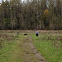 Photo taken at Thousand Acres Dog Park by Christian M. on 11/3/2012