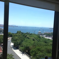 Photo taken at Hilton ParkSA Istanbul by Blue M. on 6/22/2013
