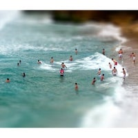 Photo taken at Tamarama Beach by Aquigenus on 1/19/2013