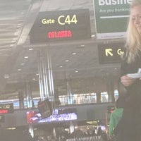 Photo taken at Gate C44 by Kelly C. on 1/14/2016