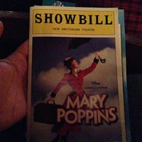Photo taken at Disney's MARY POPPINS at the New Amsterdam Theatre by Philip Y. on 2/17/2013