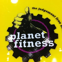 Photo taken at Planet Fitness by Tyrone B. on 3/18/2013