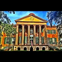 Photo taken at Harrison Randolph Hall, College of Charleston by Mark S. on 10/1/2012