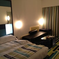Photo taken at Dubai International Hotel by Gav A. on 9/22/2012