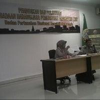 Photo taken at Badan Pertanahan Nasional RI (BPN RI) by Novaditya S. on 6/17/2014