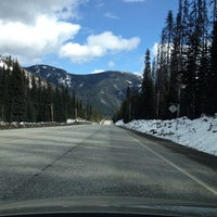 Photo taken at Manning Park Resort by Michele D. on 4/22/2014