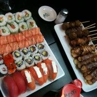 Photo taken at Hoki Sushi by Pierre W. on 11/28/2012