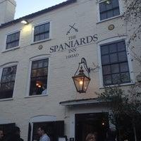 Photo taken at The Spaniards Inn by Pavlos G. on 11/11/2012
