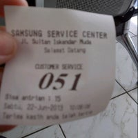 Photo taken at Samsung Service Center by Imelda T. on 6/22/2013