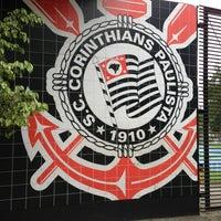 Photo taken at Sport Club Corinthians Paulista by Léo R. on 3/19/2013
