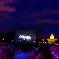 Photo taken at Screen on the Green by John Jack G. on 7/29/2014