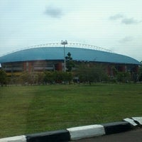 Photo taken at jakabaring by Dea A. on 11/15/2012