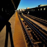 Photo taken at MTA Subway - 33rd St/Rawson St (7) by Christian T. on 4/5/2016