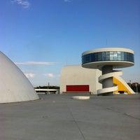 Photo taken at Oscar Niemeyer International Cultural Centre by Antonio S. on 7/24/2013
